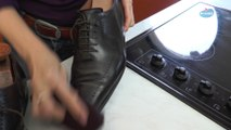 Utiliser vos vieux collants pour faire briller vos chaussures