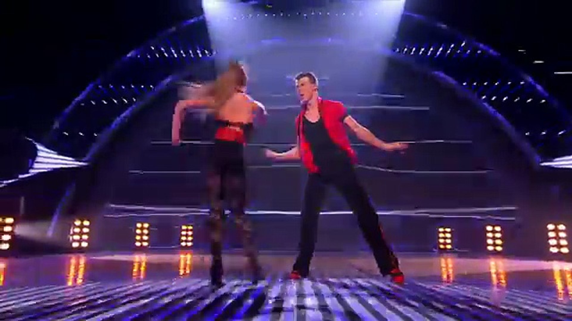 Kai and Natalia ballroom dancing - Britain\'s Got Talent 2012 Live Semi Final - International v