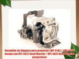 Recambio de l?mpara para proyector LMP-C162 / LMP-C163 encaja con VPL-CS21 Road Warrior / VPL-CX21