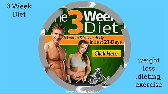 the 3 week diet system – how to lose weight fast – how to lose weight fast pdf