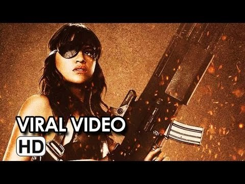 Machete Kills Promo Video - Is All About Michelle Rodriguez (2013) - Michelle Rodriguez Movie HD