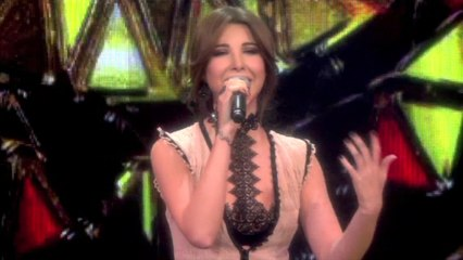 Nancy Ajram - Maakoul El Gharam Live نانسي عجرم