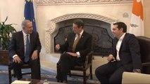 """Güney Kıbrıs, Yunanistan, İsrail Üçlü Liderler Zirvesi"""""""