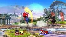 Super Smash Bros Wii U: UnknownJoe (Dark Pit) vs - DV (Mario) (no commentary)