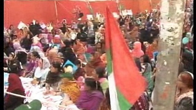 Part 2: Labour Division Protest outside Karachi Press Club: Address of MQM Quaid Altaf Hussain