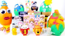 PLAY DOH EGGS SURPRISE ANIME Blind Box Opening Sailor Moon Minecraft Craftables Playdough Videos