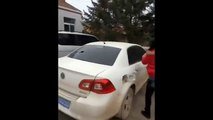 WATCH: Wife smashes up cheating husbands Volkswagen car after she discovers his affair, C