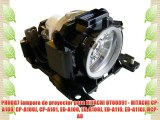 PHROG7 lampara de proyector para HITACHI DT00891 - HITACHI CP-A100 CP-A100J CP-A101 ED-A100