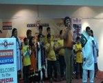 "A Beautiful song sung by Abid Maqsood Hashmi in Special Children Program "" Bachay Hamaray Ehad Kay "" held in Karachi."