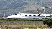 Shinkansen Bullet Train (Inside & Outside, speed 603 km/h for maglev trains test run)