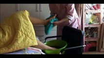 DIY Foot Care Washing Foot and Relaxing Massage