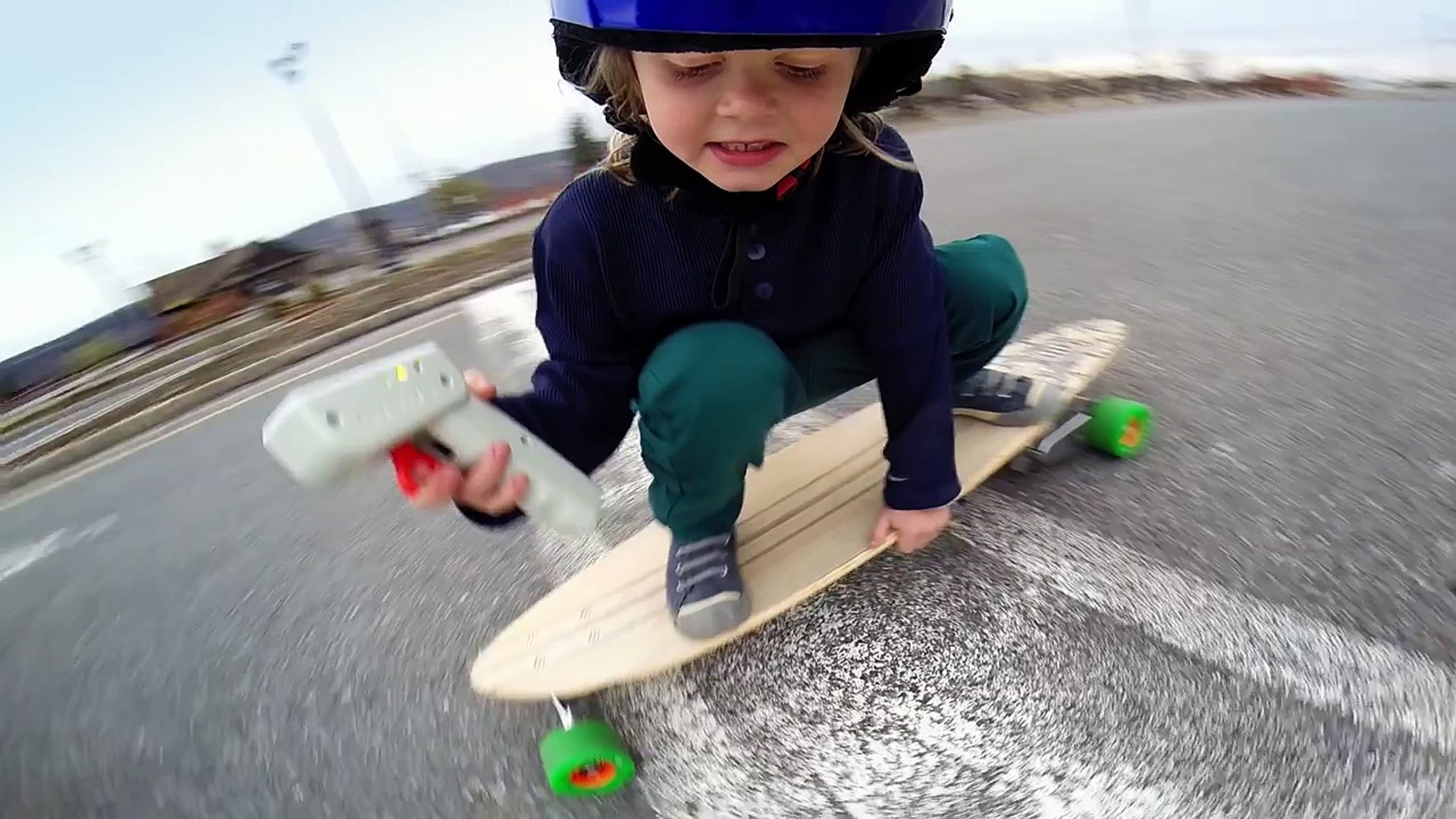 GoPro: Electric Skateboard Kid - TV Commercial