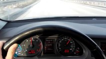 Audi A6 C6 2.0 TDI 170 HP Test Acceleration (6 GR UP) ( 100-180) Test on Road