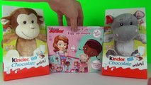 Disney Junior Chocolate EASTER EGGS Kinder Surprise, Doc McStuffins & Sofia The First Kids Toys