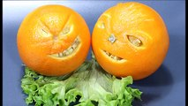 025. Free vegetable carving course orange face _ Darmowy kurs carvingu buzia z pomarańczy