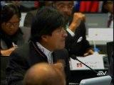 Video Evo Morales declaraciones