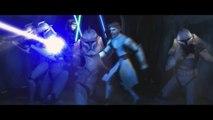 Star Wars The Clone Wars Anakin Obi Wan and Luminara VS Undead Geonosians [720p]
