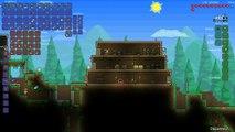 Terraria Troopplay Gameplay: Episode 12 First Boss