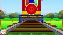 The Animal Train - Mr.Bells Learning Train | Animals For Children