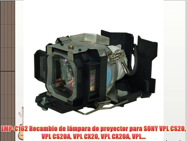 VPL-CX5 VPL-EX1 VPL-CX6 PJxJ Ersatzlampenmodul LMP-C150 mit Gehause f/ür Sony VPL-CS5 VPL-CS6