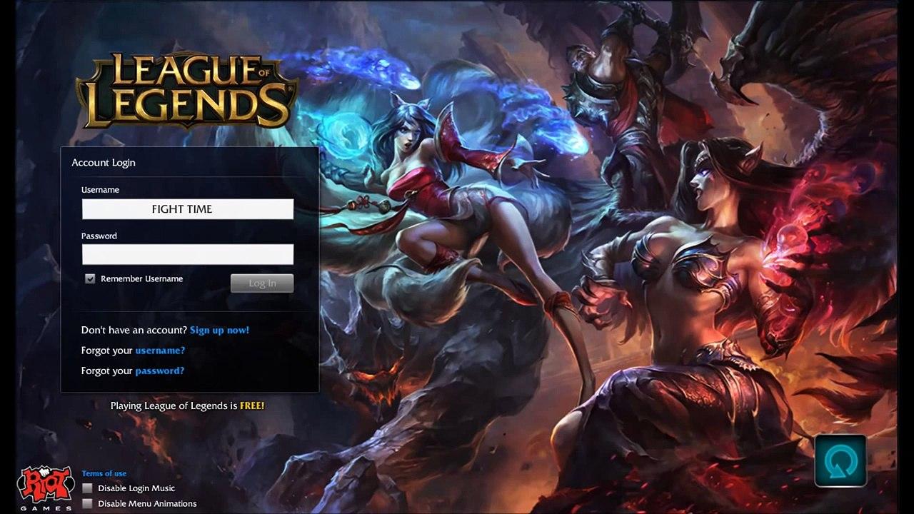 League of Legends Season 4 Login Screen and Music