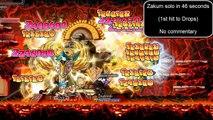 ~MultiSkills~ level 200 Paladin, SOLO Zakum POST HYPER SKILLS.~READ~DESCRIPTION~
