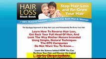 Hair Loss Black Book Review - Learn The Science Behind Hair Loss Re Grow Your Hair Naturally