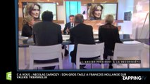 C à Vous : Nicolas Sarkozy tacle François Hollande à propos de Valérie Trierweiler (vidéo)
