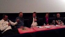 Table Ronde  du 3.10.2015 au Comoedia : Réalisation et diffusion du documentaire d'auteur en Rhône-Alpes