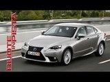 Marco Fasoli prova Lexus IS 300h - Le News di Autolink - Ruote in Pista n. 2244 - del 03-06-2014