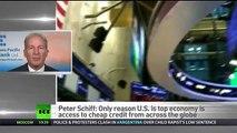 Biggest crisis ever looms - US Dollar collapse - Peter Schiff