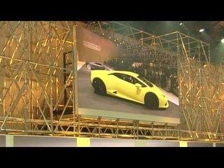 Lamborghini Huracàn Presentazione a Ginevra