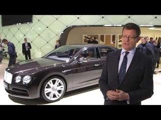 Bentley Continental GT Speed, interviste e highlights da Ginevra 2014