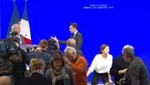 Archive - Voeux d'Emmanuel Macron à la presse