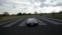 Lamborghini Aventador Drift Sound 2016