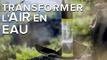 Fontus transforme l'air en eau potable grâce à l'énergie solaire