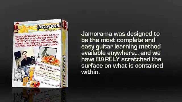 chords guitar- Jamorama