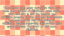 """""""The Rumors Of My Death Have Been Greatly Exaggerated"""" - ClickBank Rumors Uncovered"""