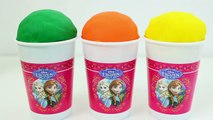 Minnie Mouse Foam Clay & Play Doh Ice Cream Cups Sofia Lalaloopsy RainbowLearning