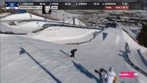 X-Games - Snowboard Slopestyle F - Victoire de Spencer O'Brien