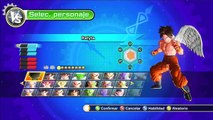 Dragon Ball Xenoverse : Goku Vegeta Gohan VS Goten Trunks Pan - EL GRAN BARDOCK - Padres VS Hijos !