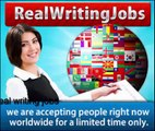 real writing jobs - get paid to write articles online