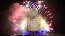 DUBAI 2016 World Record New Years Eve Midnight Fireworks Celebration - YouTube