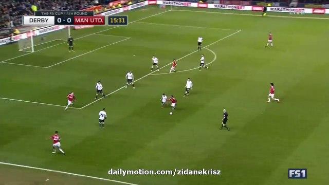 Wayne Rooney Super Goal HD - Derby 0-1 Manchester United 29.01.2016 HD