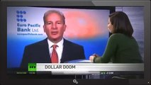 A Big crisis ever looms Peter Schiff - US Dollar collapse