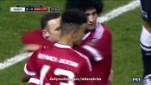 Derby County 0-1 Manchester Utd Wayne Rooney Amazing Goal  29.01.2016