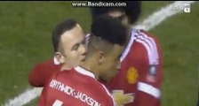 Wayne Rooney Goal - Derby County vs Manchester United 1-3 l Match Fa Cup 29/01/2016