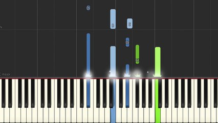 Sad Piano Music - Hurt   Synthesia w/MIDI