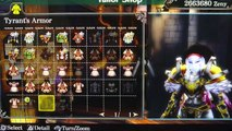 Ragnarok Odyssey Ace Tyrants armour & Tyrant Barrel Helmet English Version PS VITA HD