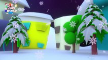 Santa claus is coming to town | 3d Christmas Songs for Children | Santa Claus